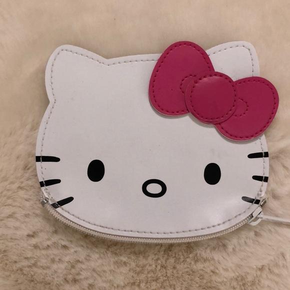 Sanrio Hello Kitty   Zipper Closure coin purse